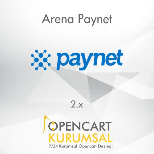 Opencart Arena Paynet Sanal Pos Entegrasyonu