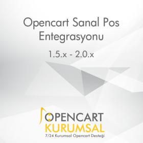Opencart Sanal Pos Entegrasyonu
