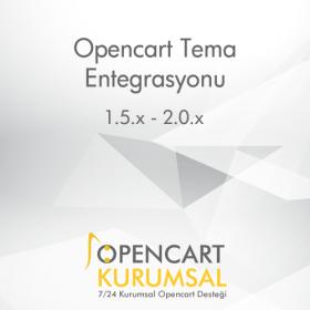 Opencart Tema Kurulumu ve Düzenlenmesi