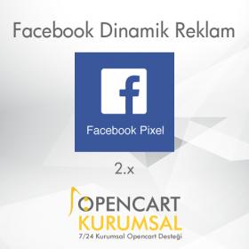 Facebook Pixel Dinamik Reklam Modülü