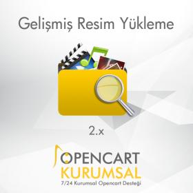 Opencart Gelişmiş Resim Yükleme Ekranı Modülü