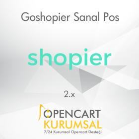 Opencart Goshopier  Sanal Pos Entegrasyonu