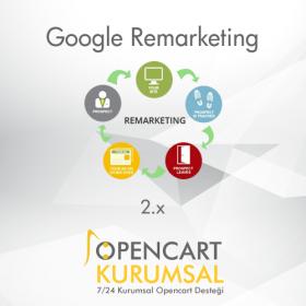 Opencart Google Dinamik ve Standart Remarketing Modülü