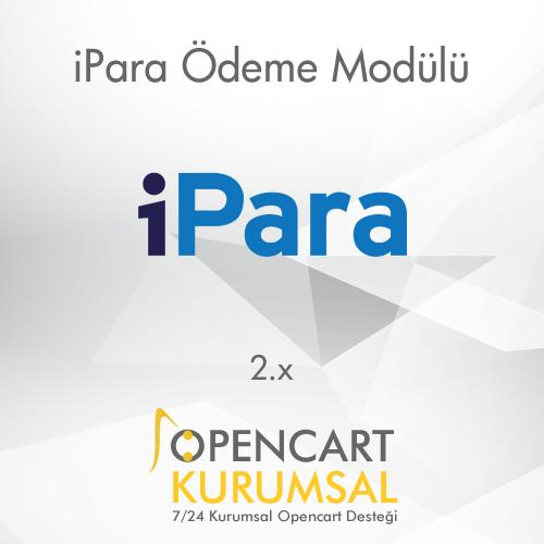 Opencart iPara Ödeme Entegrasyonu