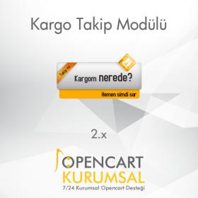 Opencart Kargo Takip Pro Modülü