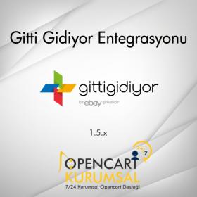 Opencart Gitti Gidiyor Api Entegrasyonu 1.5.x