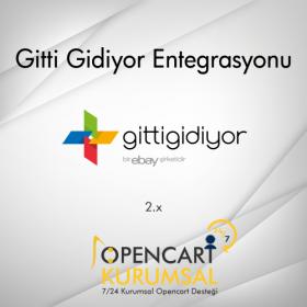 Opencart Gitti Gidiyor Api Entegrasyonu 2.x