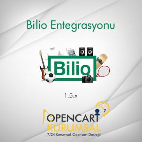 Opencart Bilio Entegrasyonu 1.5.x