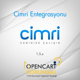 Opencart Cimri Entegrasyonu 1.5.x