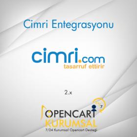 Opencart Cimri Xml Entegrasyonu 2.x
