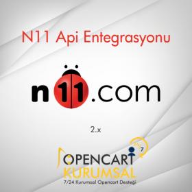 Opencart N11 Api Entegrasyonu 2.x