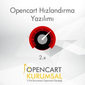 Opencart 2.x Hızlandırma Yazılımı