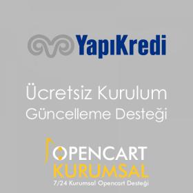 Opencart Yapı Kredi Bankası Sanal Pos Modülü