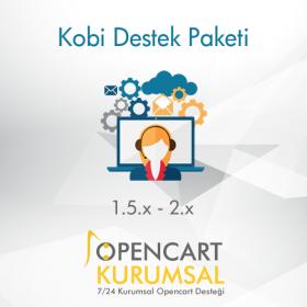 Opencart Kobi Destek Paketi / Aylık