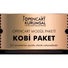 Opencart Kobi Modül Paketi