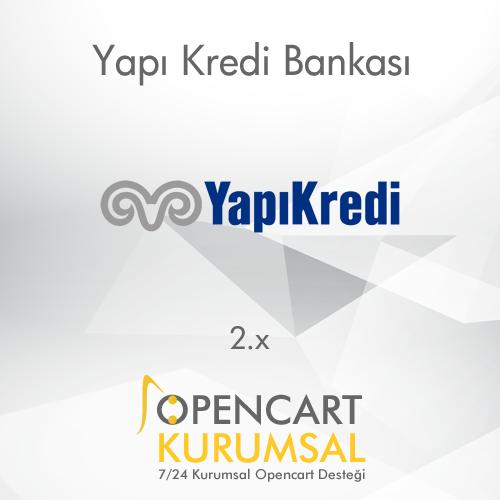 Opencart Yapı Kredi Bankası Ödeme Entegrasyonu